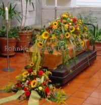 Sargschmuck Sonnenblume